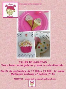 cartell sugar silvius taller galletas
