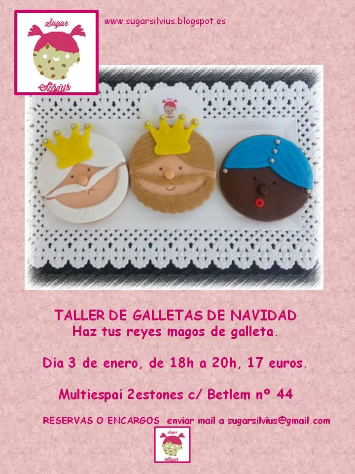 cartell sugar silvius taller navidad reyes